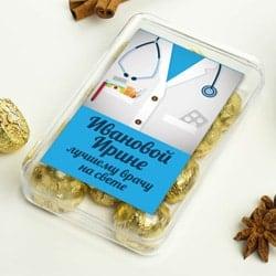 Набор конфет для врача