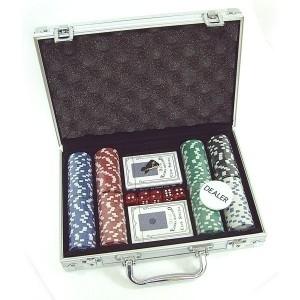 Набор для покера в кейсе на 200 фишек от Долина Подарков