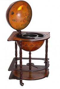 Глобус-бар напольный с широким основанием от Долина Подарков