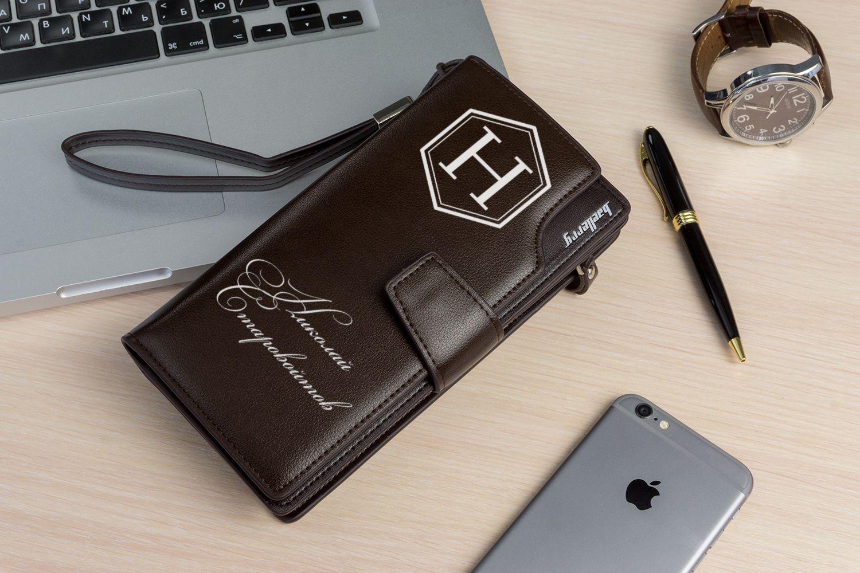 Именной портмоне-клатч от 1 990 руб