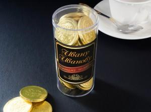 """Набор """"Золотой человек"""" именной от Долина Подарков"""