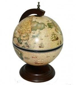 Глобус-бар *Сокровища древнего мира* (настольный) от Долина Подарков