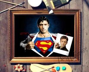 Портрет по фото *Супермен*Оригинальный портрет, изготовленный по фотографии<br>