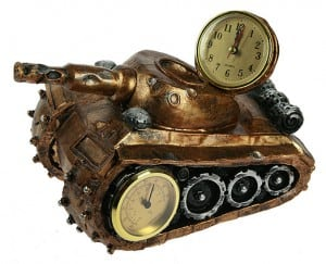 "Часы-термометр ""Танк"" от Долина Подарков"