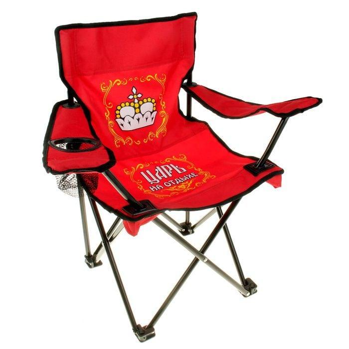 Купить Складной стул *Царский трон* (детский) в интернет-магазине подарков. Огромный выбор необычных подарков и сувениров широкого ценового диапазона!
