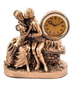 """Настольные часы """"Влюбленная пара"""" от Долина Подарков"""