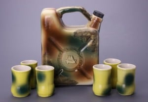 Набор для крепких напитков *Армейская канистра*