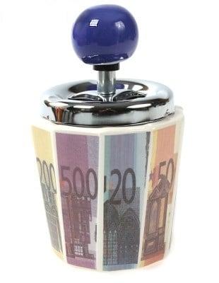 Купить Пепельница *Евро* в интернет-магазине подарков. Огромный выбор необычных подарков и сувениров широкого ценового диапазона!
