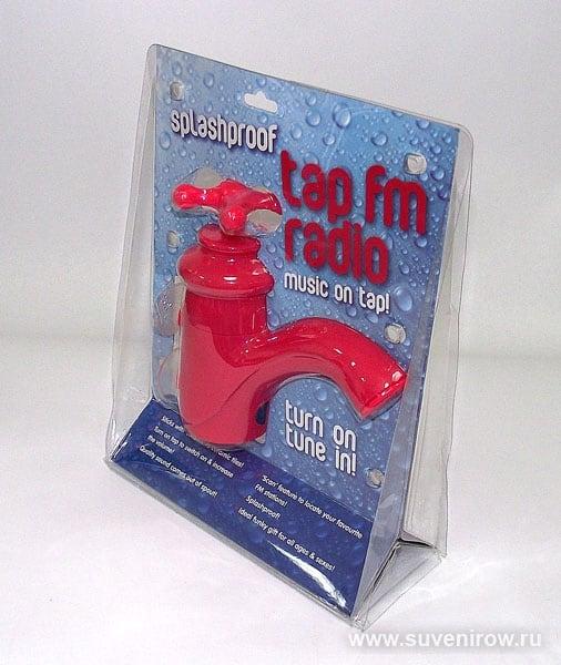 Купить Радио для душа *Кран* в интернет-магазине подарков. Огромный выбор необычных подарков и сувениров широкого ценового диапазона!