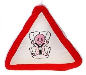 Подушка в машину *Ребенок на борту* от Долина Подарков