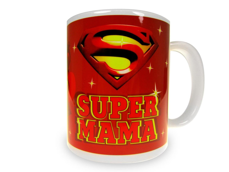 Кружка *Супер Мама* с вашей надписью
