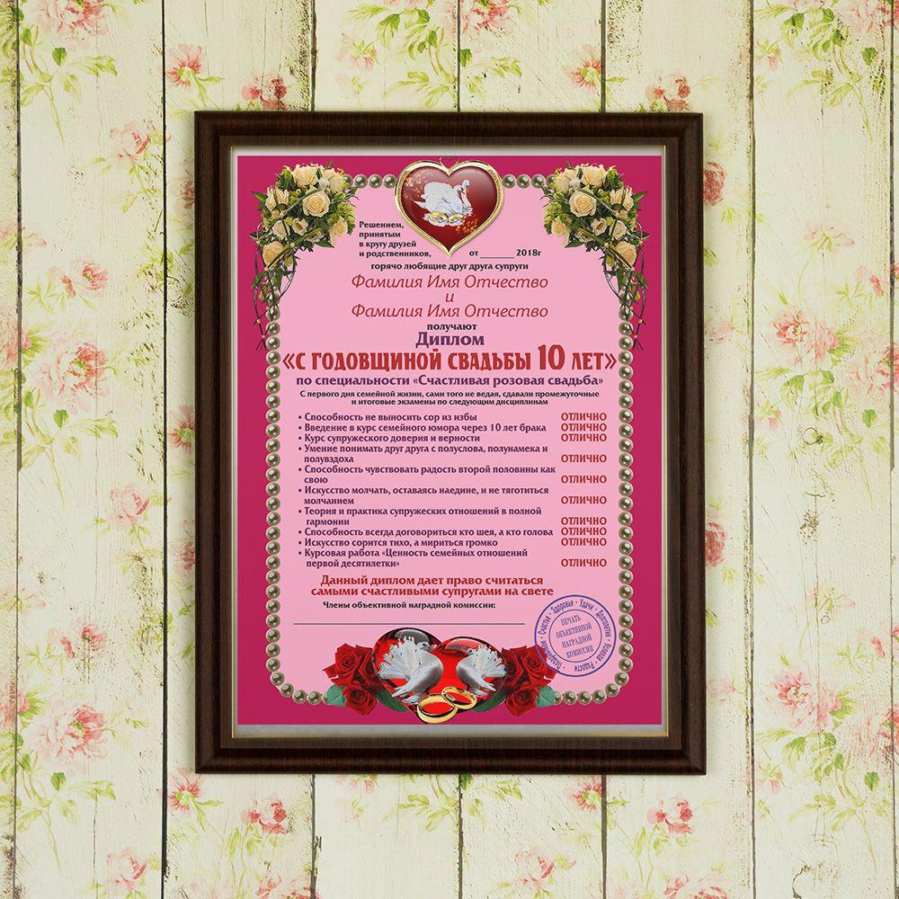 Заказать оригинальное поздравление на свадьбу
