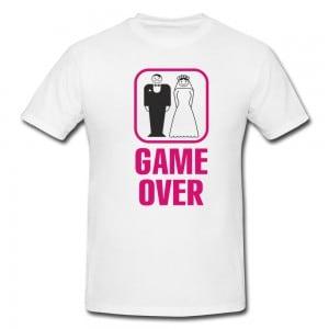 Футболка *Game Over* мужская от Долина Подарков