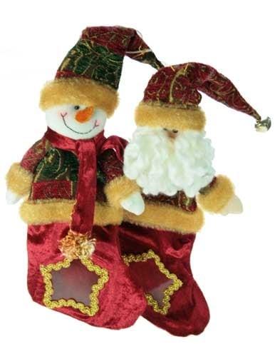Купить Новогодний мешочек для подарков в интернет-магазине подарков. Огромный выбор необычных подарков и сувениров широкого ценового диапазона!