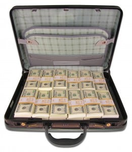Один миллион долларов в кейсе от Долина Подарков