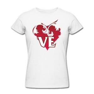 Комплект футболок *Love* от Долина Подарков