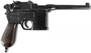 Пистолет МаузерПолноразмерная копия знаменитого пистолета<br>