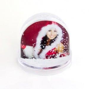 Персональный водяной шар со снежинками от Долина Подарков