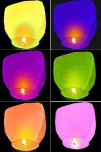 Летающие фонарики от Долина Подарков