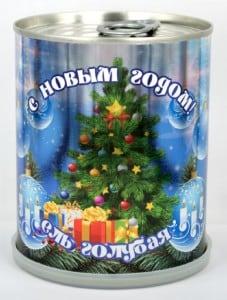 Растение в банке *Ель новогодняя* от Долина Подарков