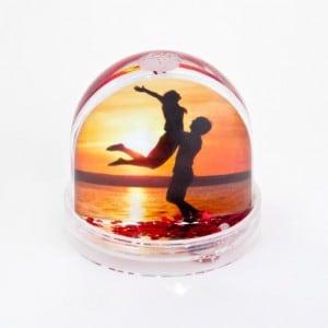 Персональный водяной шар с сердечками от Долина Подарков