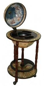 Глобус-бар *Сокровища древнего мира* в напольном исполнении от Долина Подарков
