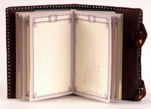 Ежедневник с кожаной обложкой формат А5 от Долина Подарков