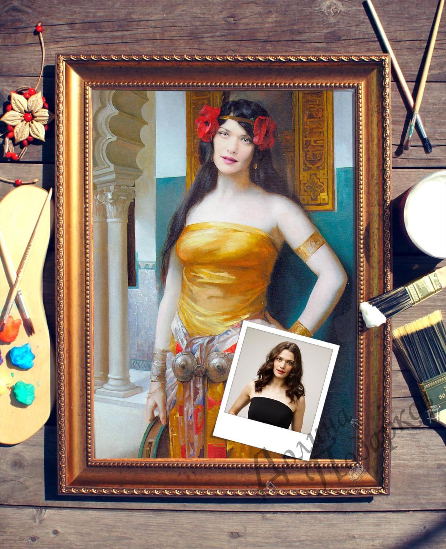 Портрет по фото *Арабская красавица*