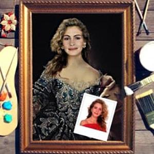 Портрет по фото *Княгиня Екатерина* от Долина Подарков