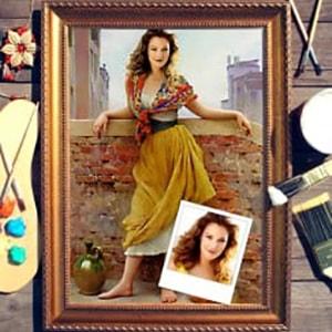 Портрет по фото *Девушка на мосту* от Долина Подарков