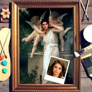 Портрет по фото *Ангелочки* от Долина Подарков