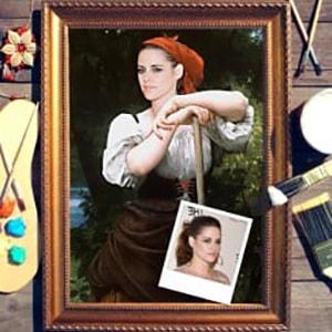 Портрет по фото *Крестьянка* от Долина Подарков