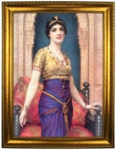 Портрет по фото *Роскошная дама* от Долина Подарков