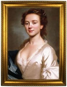 Портрет по фото *Девушка Рококо*Оригинальный портрет, изготовленный по фотографии<br>