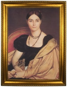 Портрет по фото *С веером*Оригинальный портрет, изготовленный по фотографии<br>