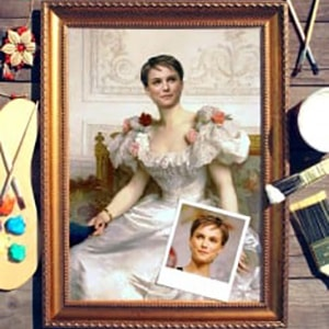 Портрет по фото *Графиня де Камбасерес* от Долина Подарков