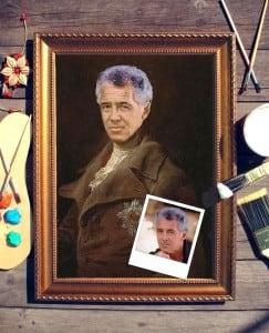 Портрет по фото *Князь* от Долина Подарков