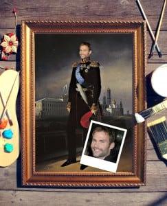 Портрет по фото *Великий князь* от Долина Подарков