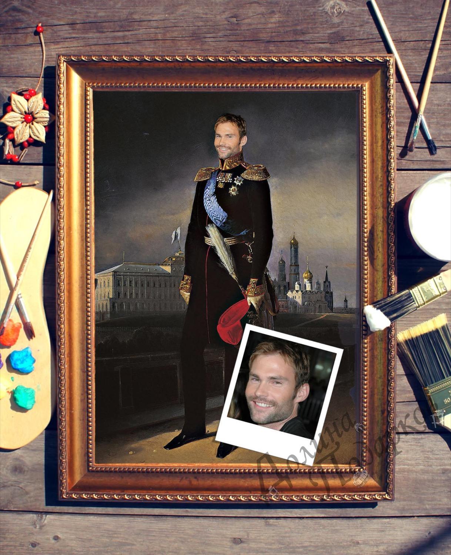 Портрет по фото *Великий князь*