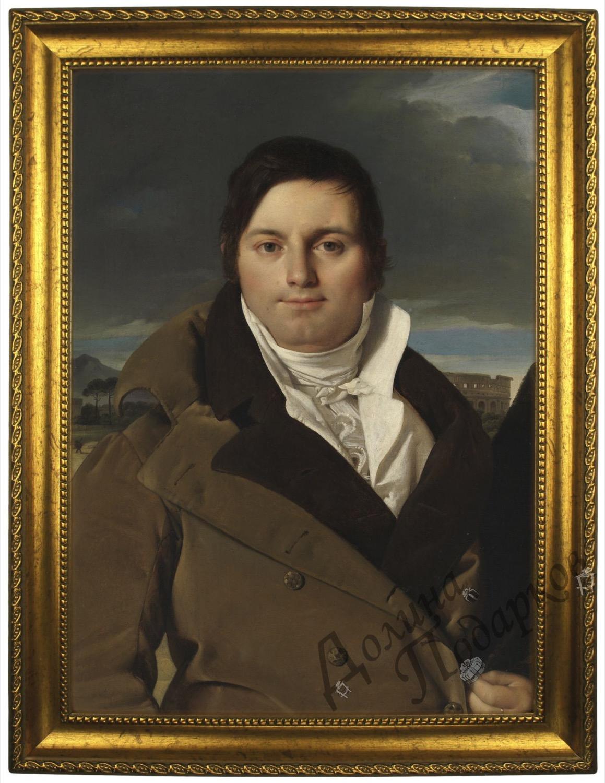 Портрет по фото *Мужчина в Риме*