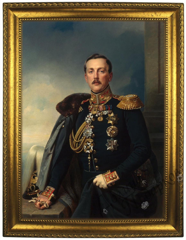 Портрет по фото *Князь Суворов*