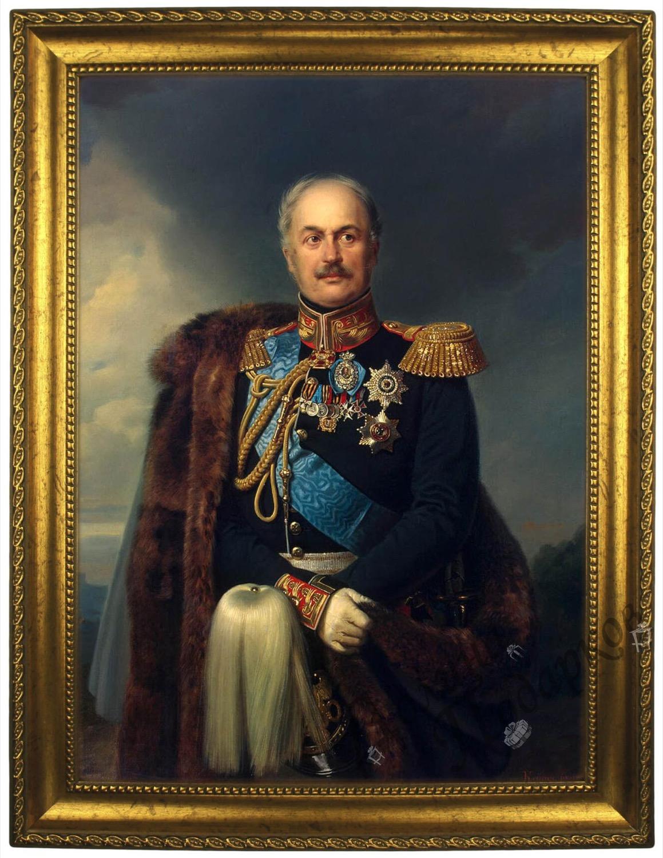 Портрет по фото *Генерал от инфантерии* купить в интернет-магазине Долина Подарков, цена в Москве
