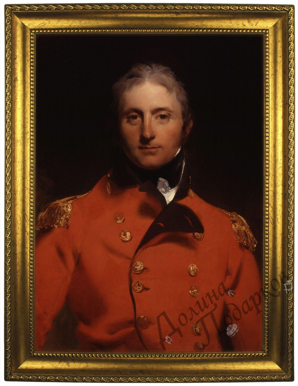 Портрет по фото *Английский генерал*