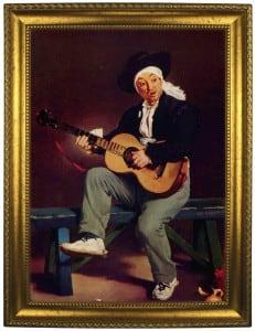 Портрет по фото *Гитарист* от Долина Подарков