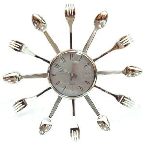 Часы *Вилки Ложки* от Долина Подарков