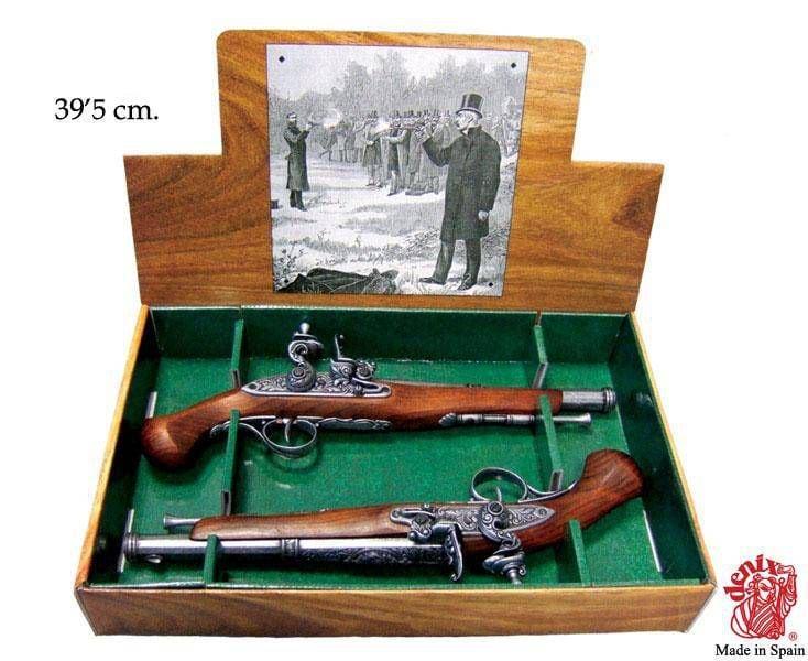 Купить Дуэльные пистолеты 18 века в интернет-магазине подарков. Огромный выбор необычных подарков и сувениров широкого ценового диапазона!