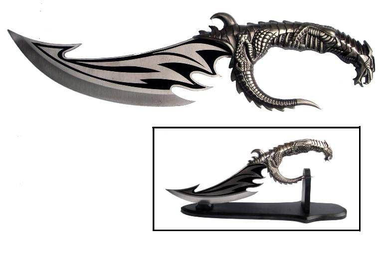 """Купить Кинжал """"Крыло дракона"""" в интернет-магазине подарков. Огромный выбор необычных подарков и сувениров широкого ценового диапазона!"""