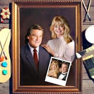 Парный портрет по фото *Счастливая пара*