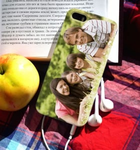 Чехол для iPhone с вашим фото от Долина Подарков