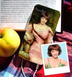 Чехол для iPhone с вашим портретом *Девушка в розовом* от Долина Подарков